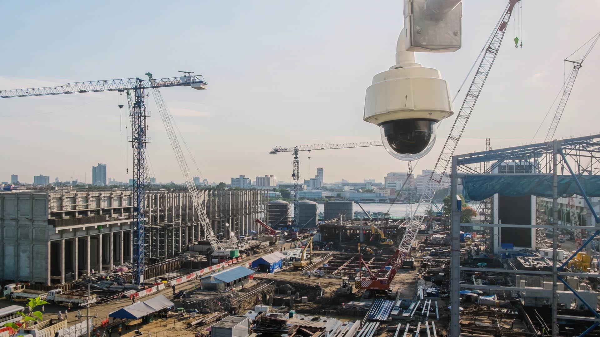 Építkezés megfigyelés